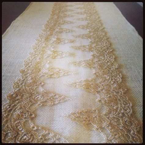 gold lace table runner a tough sprucing up my table decor help me bees