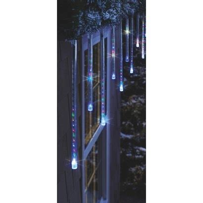 cascading icicle string lights philips 12ct multicolor cascading icicle string lights white wire target exclusive want