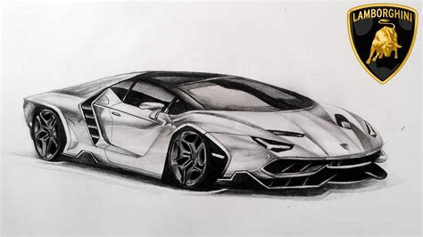 Lamborghini Drawing drawing new lamborghini centenario lp770 4 youtube