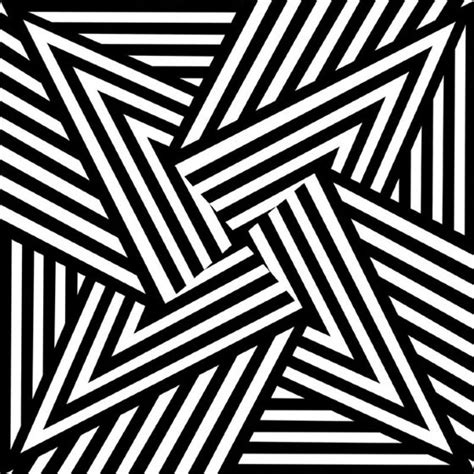 black and white pattern artists brokenlinesfrancescocarrozzini op art patterns and