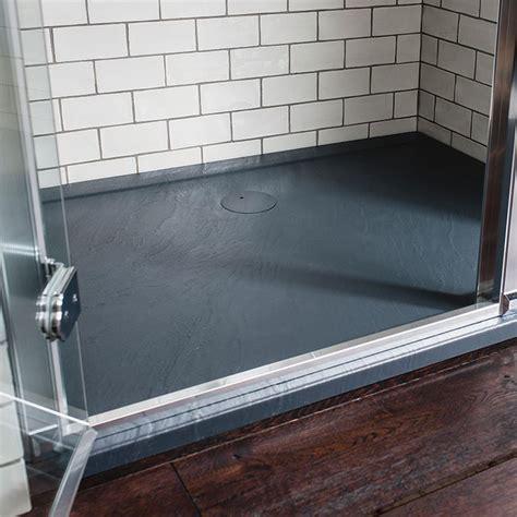 receveur en acrylique effet ardoise ilex largeur 90 cm