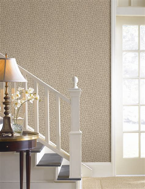 gold wallpaper hallway make it modern with wallpaper brewster home
