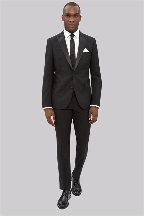 Slim Fit dkny slim fit black tuxedo