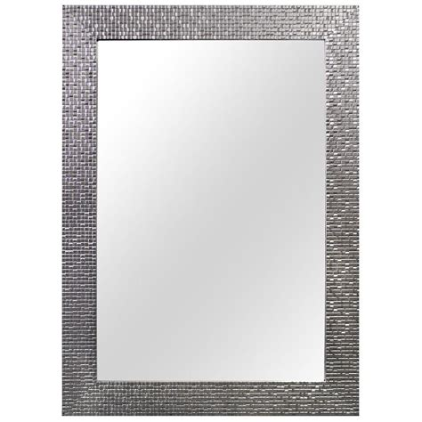 home decorators mirror home decorators collection 24 in w x 35 in l framed fog