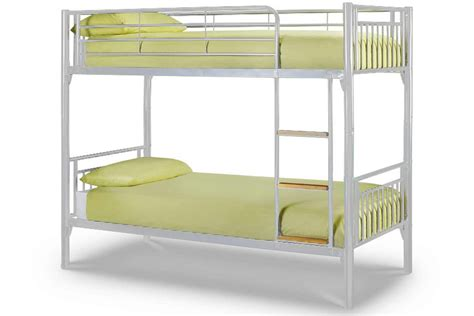 Julian Bowen Atlas Bunk Bed Buy Julian Bowen Atlas 3ft Single White Bunk Bed Cfs Uk