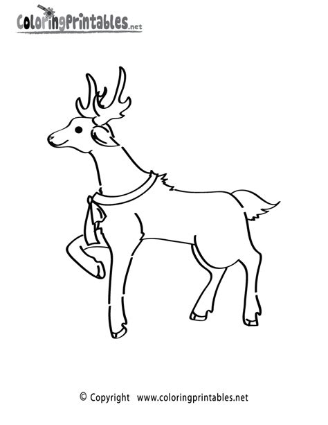 printable coloring pages reindeer printable raindeer coloring pages new calendar template site