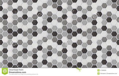 piastrelle piccole piccole mattonelle esagonali senza cuciture di marmo