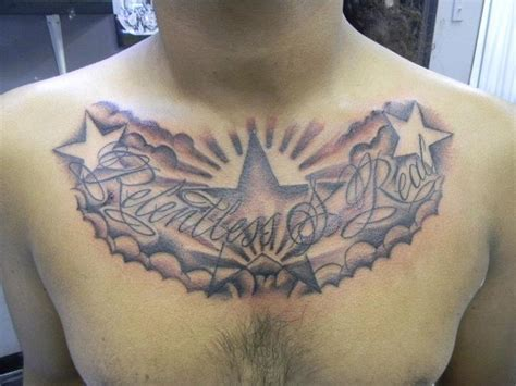 stars and clouds tattoo designs 35 cloud tattoos on chest