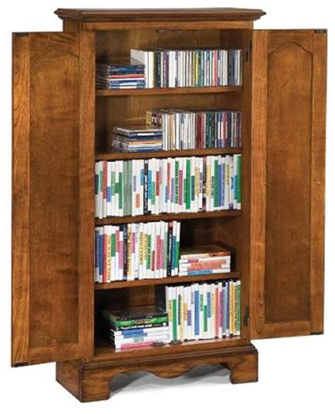 wood cd dvd cabinet tall oak wood cd dvd media storage cabinet in a country