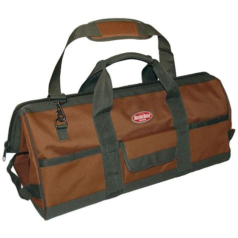 Home Depot Tool Bags by Klein Tools 24 In Deluxe Canvas Tool Bag 5102 24sp The