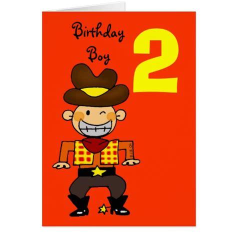 Birthday Card 2 Year Boy 2 Year Old Birthday Boy Greeting Card Zazzle