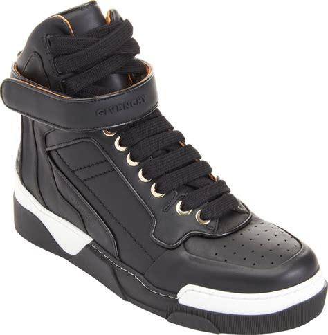 high ankle sneakers givenchy high top ankle sneaker in black for lyst
