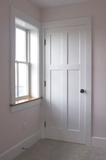 Interior Farmhouse Doors 4 Panel Traditional Interior Flat Panel Doors Farmhouse Cleveland By Homestead Doors Inc