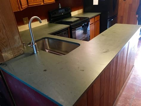 Green Slate Countertops Green Slate Countertops Modern Kitchen New York By