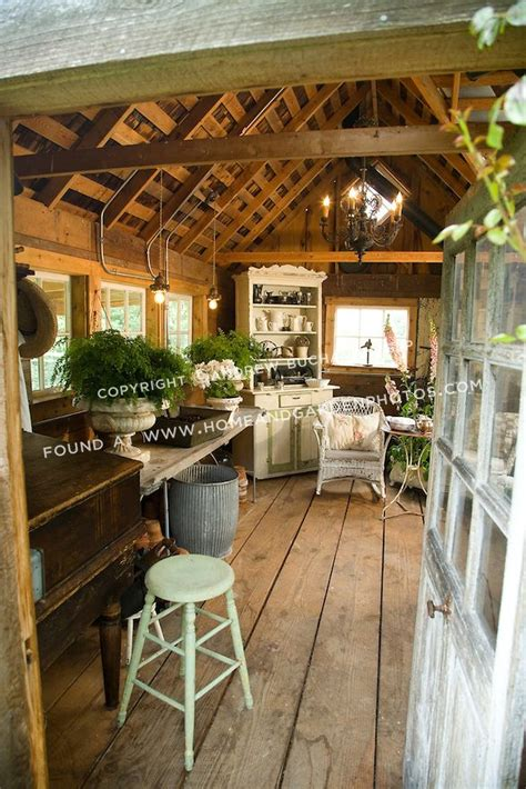 1000 ideas about garden shed interiors on