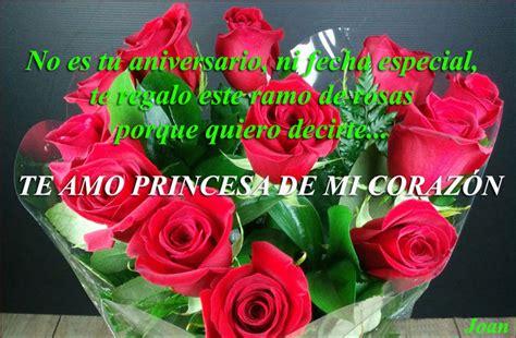 imagenes de rosas para una princesa te quiero princesa poema imagui