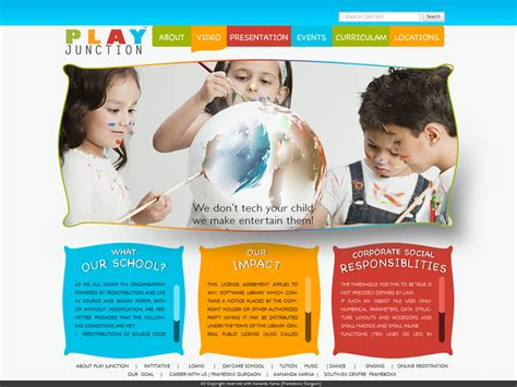 play school brochure templates school brochure templates for word high quality template