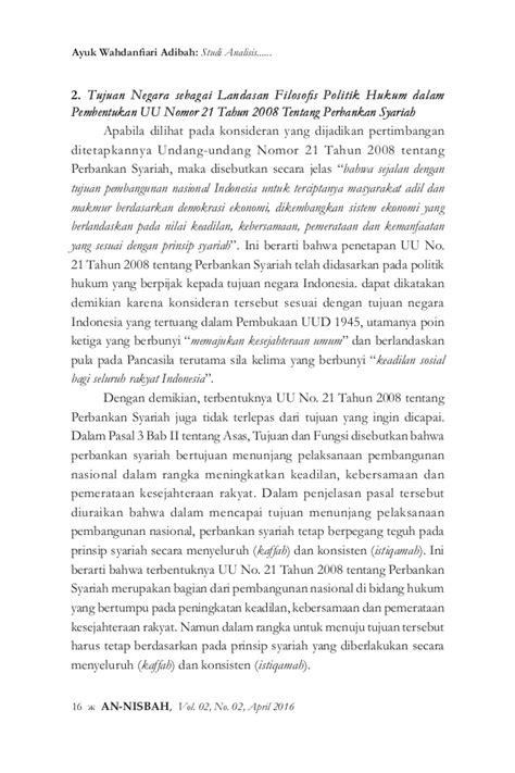 Negara Hukum Studi Studi Tentang Prinsip Prinsipnya Di Lihat Dari studi analisis pembentukan undang undang nomor 21 tahun