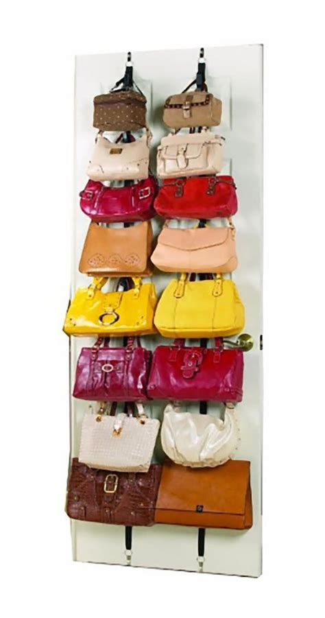 How To Hang Purses In Closet by 17 Best Ideas About Purse Rack On Handbag Organization Handbag Storage And Purse