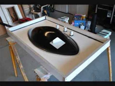 How To Make A Concrete Countertop With Sink how to make concrete sink countertop molds