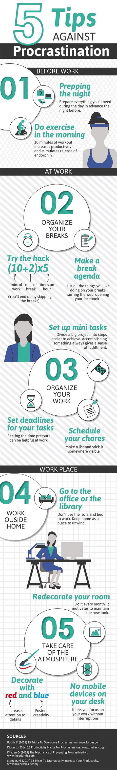 Tips To Keep From Procrastinating by 5 Ways To Stop Procrastinating Right Now Productivity