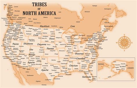 map of american tribes american tribes franklin arts franklin arts