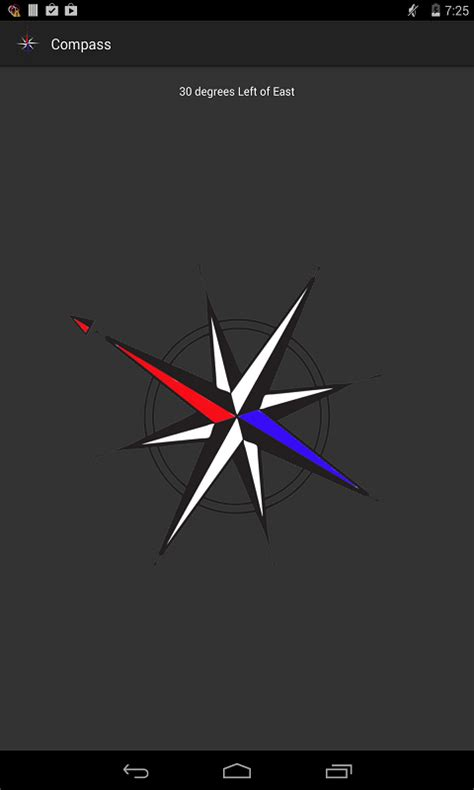 magnetic compass apk free simple magnetic compass apk for android getjar