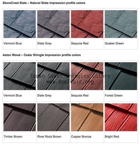metal roofing colors tamko metal roof shingles colors metal roofing ideas and