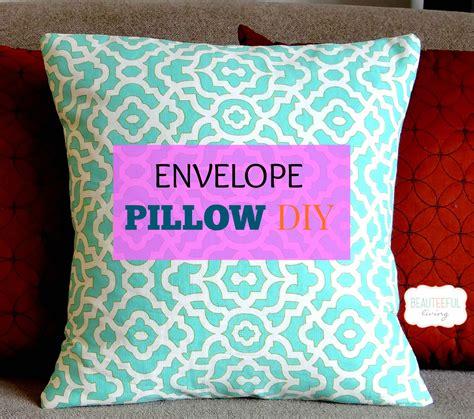 envelope pillow diy beauteeful living