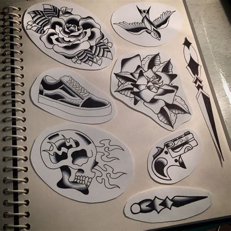 old school tattoo flash 19 best sketch images on design tattoos