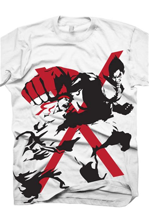 T Shirt Tekken 00 t shirt fighter x tekken funko universe planet