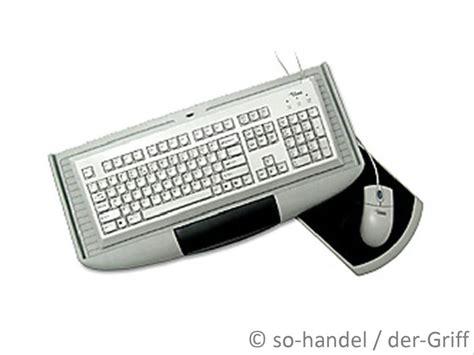 schreibtisch schwarz tastaturauszug mit mauspad computertisch tastatur