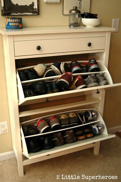 shoe storage ideas ikea wood plank wall hallway part 1 2 little supeheroes2