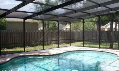 pool enclosures and screen roofs schnorr home improvements