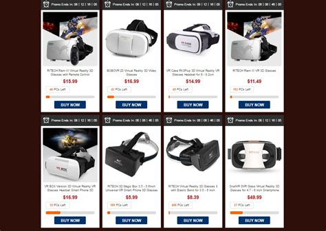 great best gearbest holding flash sale on vr viewers