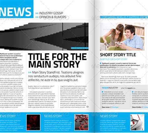 magazine format template 33 ready to print premium magazine templates naldz graphics