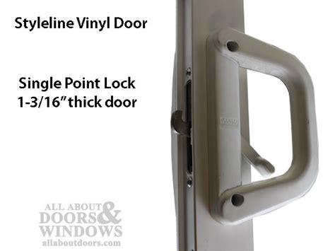 Milgard Patio Door Handle by Milgard V 2 Latch Locking Handle 1 3 16 Thick Door