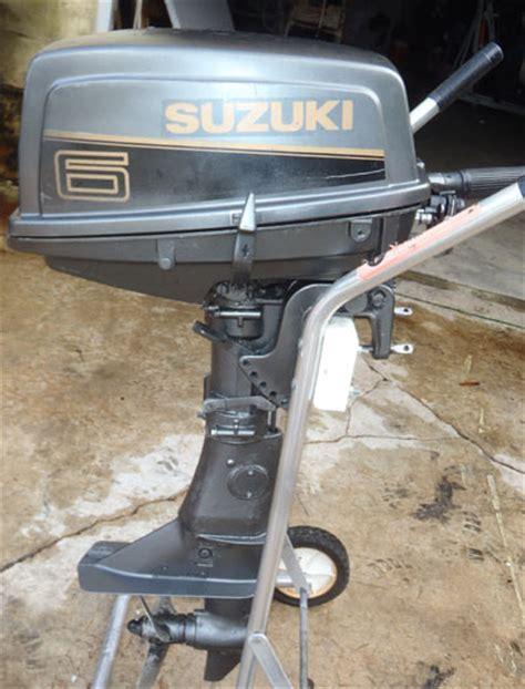 Used Suzuki Boat Motors Used 1999 Suzuki 6 Hp Outboard Motor For Sale Suzuki Boat