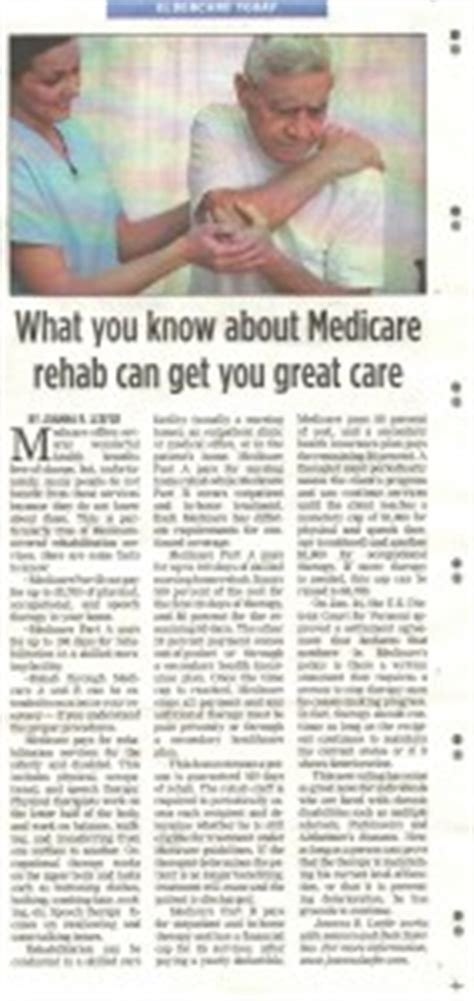 Detox That Takes Medicare by How To Get Great Physical Therapy Results With Medicare