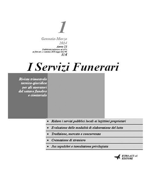 Descargar Ebook Pdb I Servizi Funerari