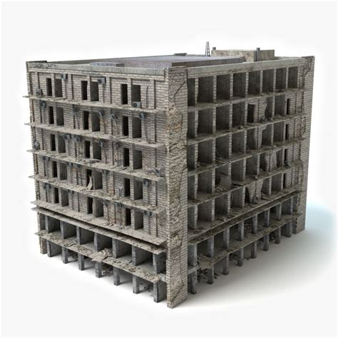 Sisket Nmax New Model destroyed building 3ds