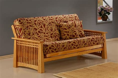 couch with wooden frame finest wood frame couch homesfeed