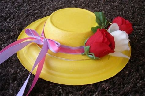 How To Make A Paper Easter Bonnet - easter hats easy and for the made with