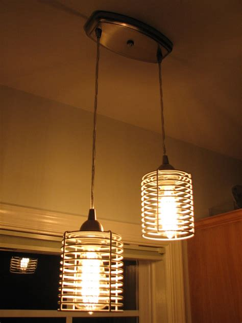 hanging light fixtures ikea ikea bathroom metal baskets spray paint pendant light