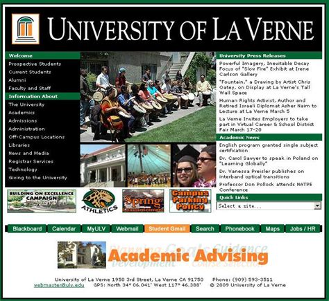 Of La Verne Mba Ranking by Of La Verne Degrees Reviews Tuition