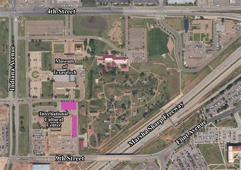 texas tech parking map cus maps transportation parking services ttu