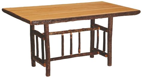 hickory dining table hickory rectangular 72 quot counter height standard dining