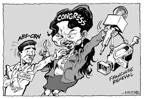 ed cartoons abs cbn franchise renewal aseanews