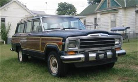 87 jeep wagoneer 87 jeep grand wagoneer for parts