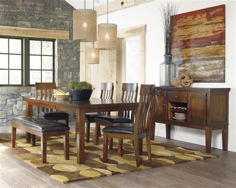 signature design by ashley chimerin casual dining room set signature design by ashley ralene casual dining room group